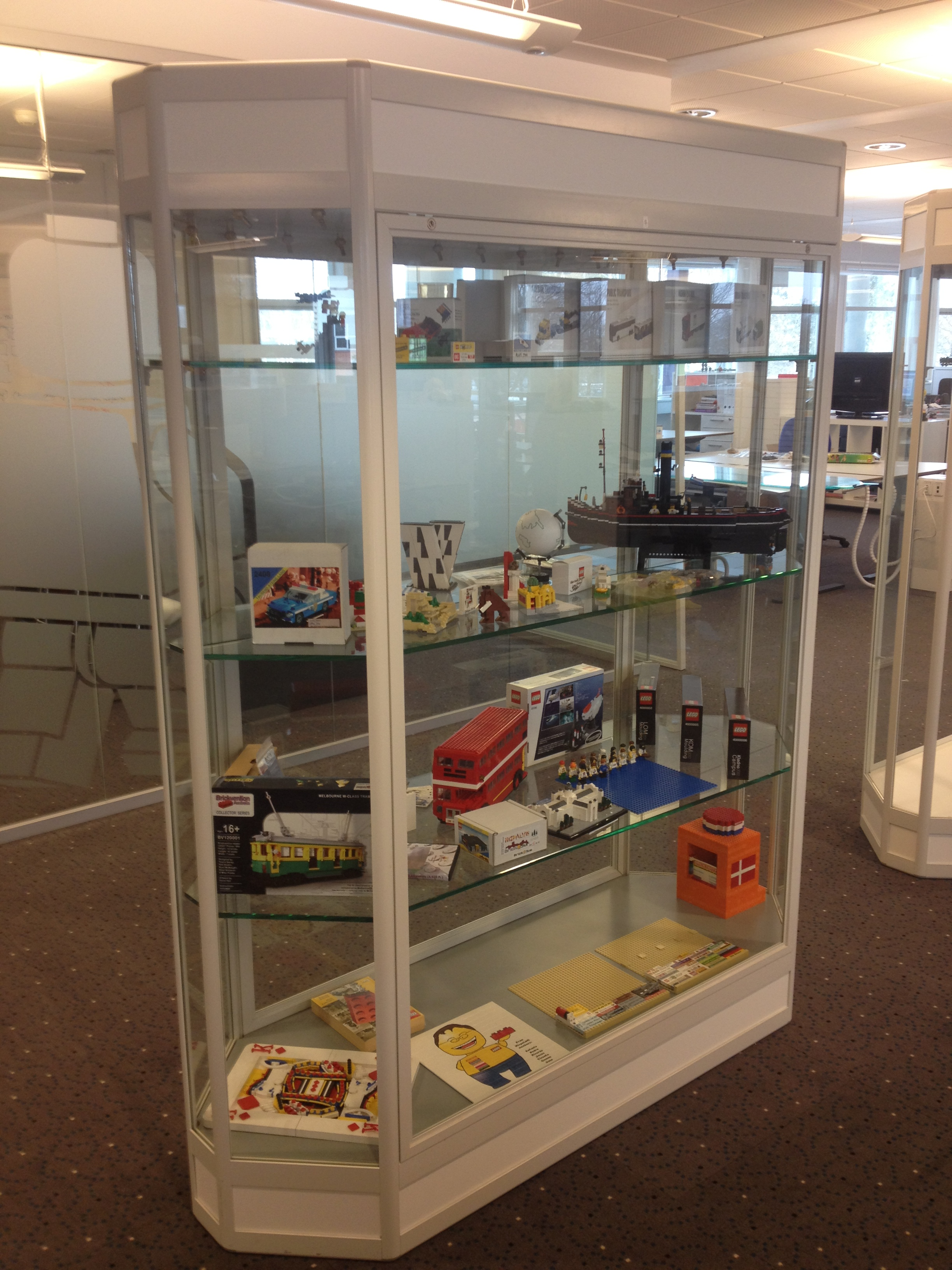 Our new display cabinet | Community Team Blog
