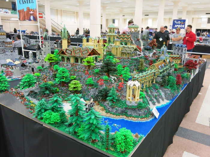 Rivendell built by Alice Finch & David Frank